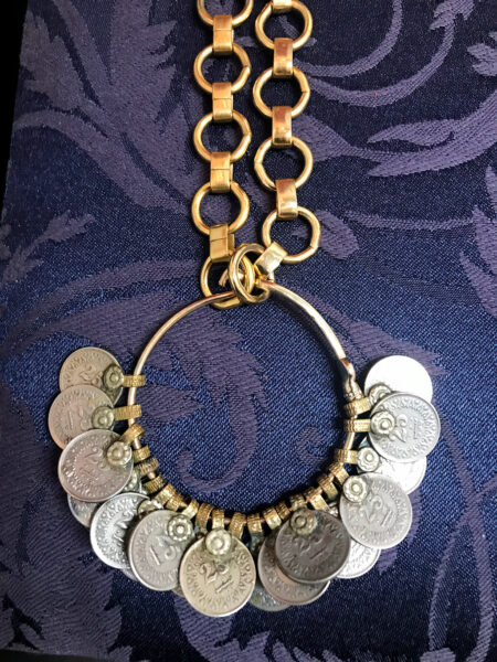 jewelry with coins, Paola Nesmith